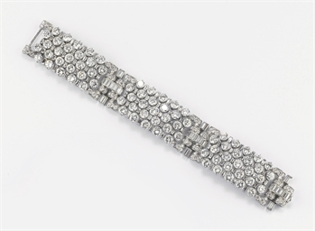 BRACCIALE IN DIAMANTI, FIRMATO