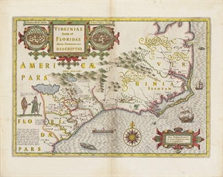 [VIRGINIA]. MERCATOR, Gerard.