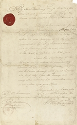 WASHINGTON, George. Document s