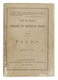 POE, Edgar Allan. Tales. New Y
