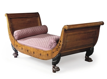 A BIEDERMEIER FRUITWOOD AND IN