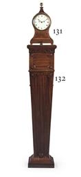 A GEORGE II MAHOGANY PEDESTAL