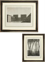 A SET OF THREE FRENCH ARCHITEC