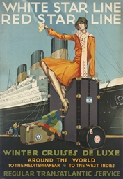 WHITE STAR LINE, RED STAR LINE