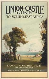 UNION-CASTLE LINE TO SOUTH & E
