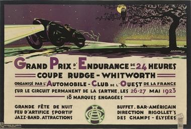 GRAND PRIX D'ENDURANCE DE 24 H