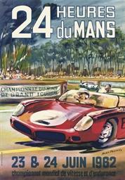 24 HEURES DU MANS, 1962