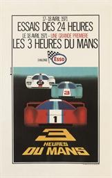 ESSAIS DES 24 HEURES, 1971