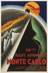 MONTE-CARLO, RALLYE AUTOMOBILE