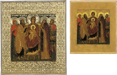 AN ICON OF THE MOTHER OF GOD V