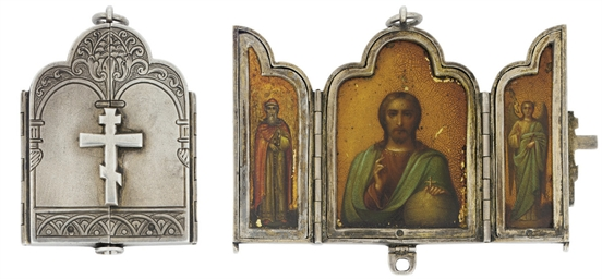 A PRIVATE MINIATURE TRIPTYCH D