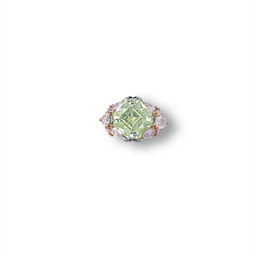 AN EXCEPTIONAL COLOURED DIAMON