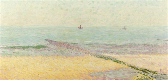 A sunny day - Beach scene with