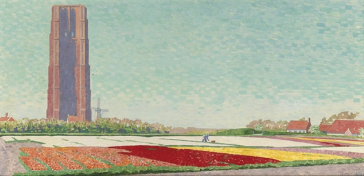 Bulb fields near Westkapelle