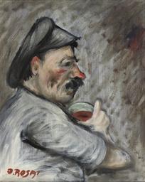Uomo che beve - Drinking man