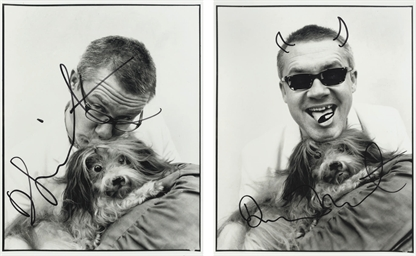 Two self-portraits