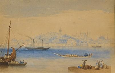 Constantinople vue du Bosphore