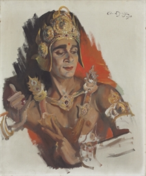 Portrait of Uday Shankar