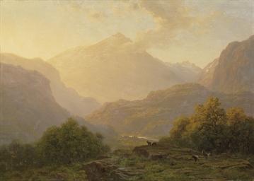 Blick von Schwyz Richtung Rigi