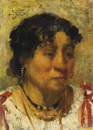 Ritratto di contadina, 1880-82