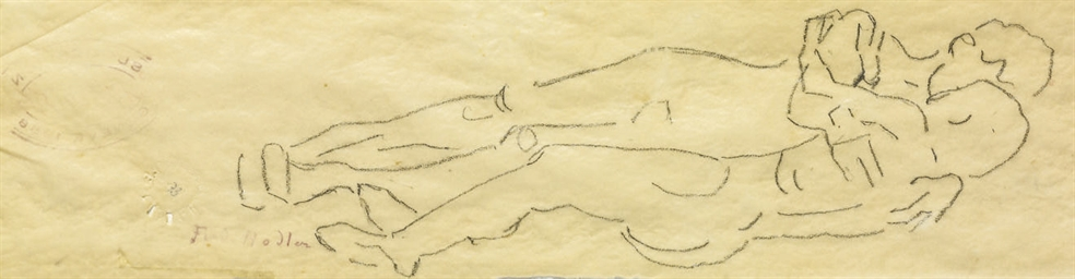 Studie zu 'Die Liebe', um 1907