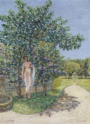 Römische Venus im Park, 1912