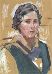 Bildnis Gertrud Amiet, 1916 (N