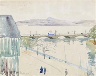 Vue de Genève, 1908