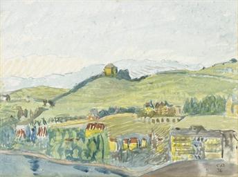 Schloss Châtelard in Montreux,