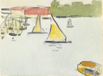 Segelboote, 1953