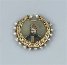 A RARE ANTIQUE INDIAN MINIATUR
