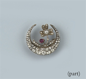 A COLLECTION OF ROSE-CUT DIAMO