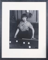 Fille au Billard Russe, 1933