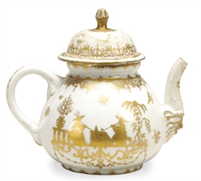 A GERMAN PORCELAIN HAUSMALEREI