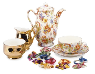 A PORCELAIN PART BREAKFAST SET