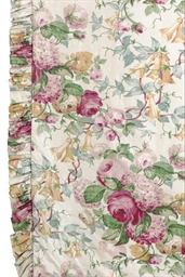 FOUR FLORAL CHINTZ CURTAIN PAN