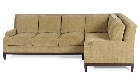 A MERIDIAN SECTIONAL SOFA,