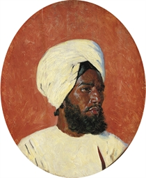 Portrait of an Indian man