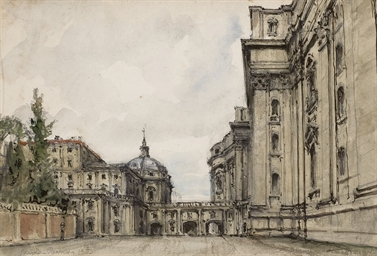 The gates between San Pietro C