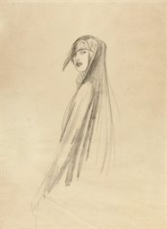 A veiled woman