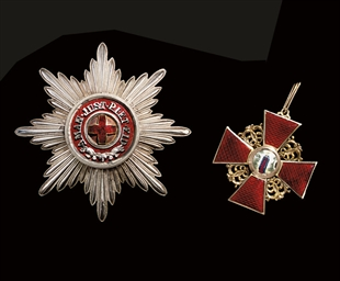 Order of St. Anne first class,