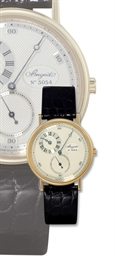 BREGUET, REGULATOR  18K GOLD M