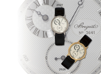 BREGUET, REGULATOR  18K WHITE