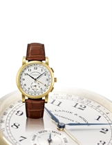 """A. LANGE & SÖHNE, """"1815 KALENDERWOCHE""""  18K GOLD MANUAL-WINDING WRISTWATCH WITH SMALL SECONDS AND CALENDAR-WEEK FUNCTION, LIMITED EDITION OF 50 PIECES TO MARK THE 150TH ANNIVERSARY OF UHREN HUBER, RENOWNED GERMAN RETAILER"""