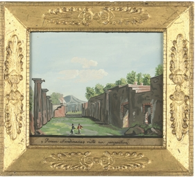 Four views of Pompeii