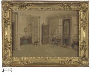 A Sitting room interior