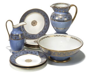 A GROUP OF SEVRES (OUTSIDE DEC