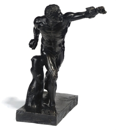 A NORTH EUROPEAN BRONZE FIGURE