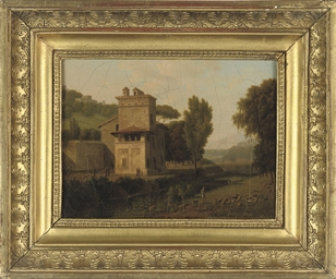 Casa Cenci in the Borghese Gar