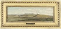 View across the hills, possibly of La Tour Sans Venin in the region of Seyssinet-Pariset, Grenoble